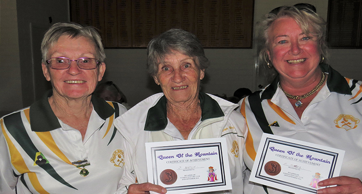 BULAHDELAH TEAM: Mary-Anne Hutley, Jan Bartyn and Joan Fenning