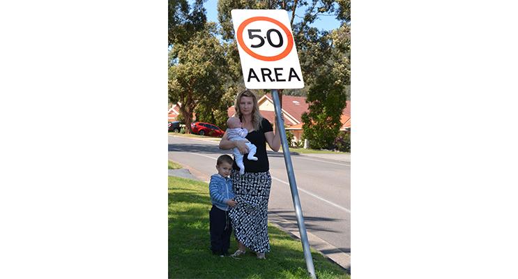 Heidi Rhodes with her children says, Kids safety is paramount.