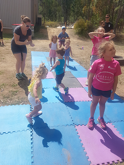 A junior boot camp was a lot of fun for the teeny participants.