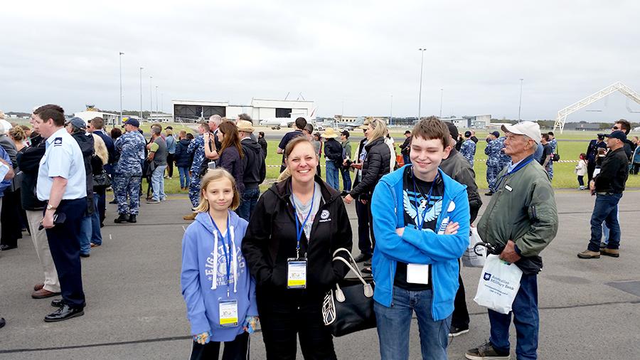 Medowie mum Renee Craddock, with two of her children.