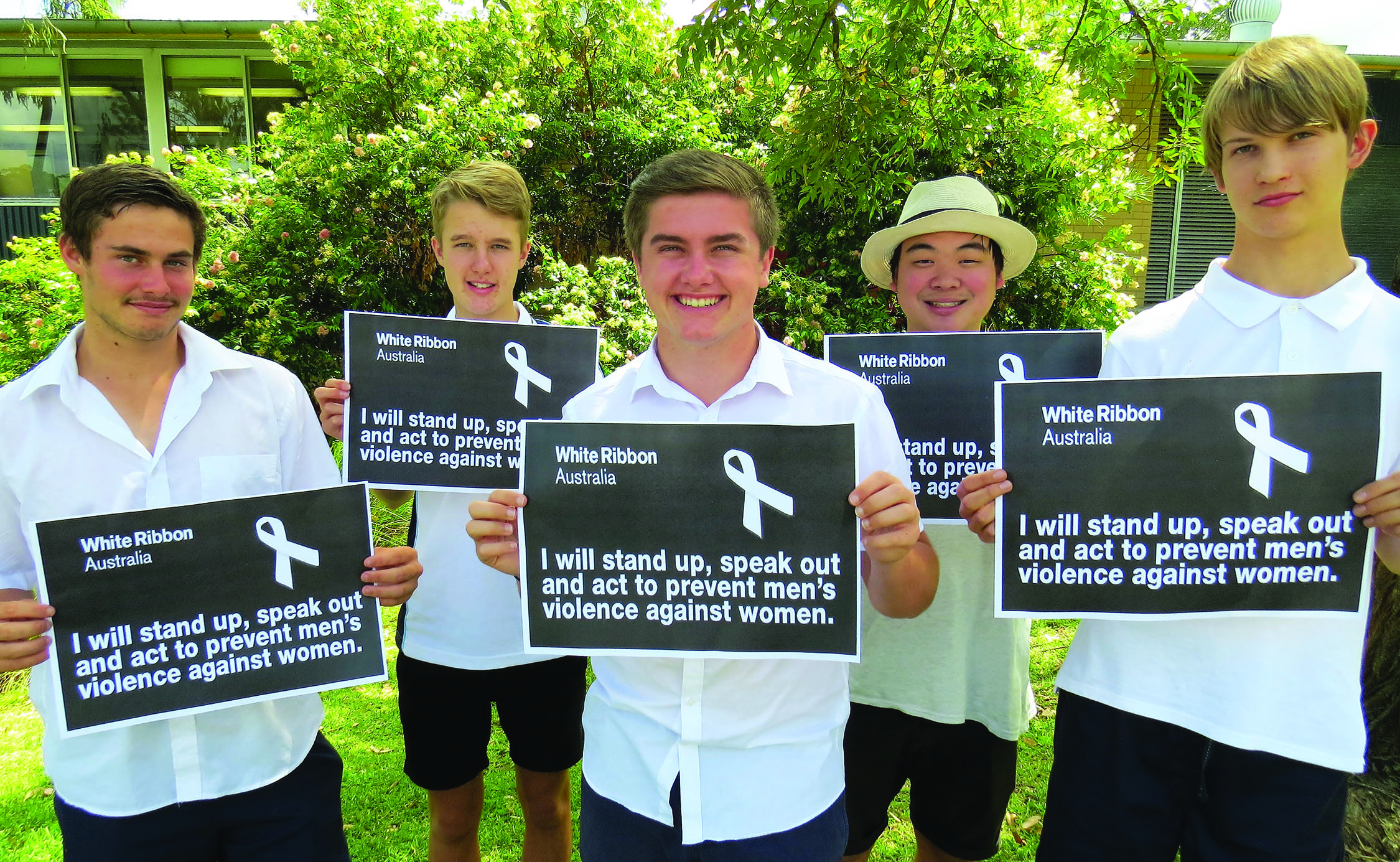 White Ribbon day - take the oath