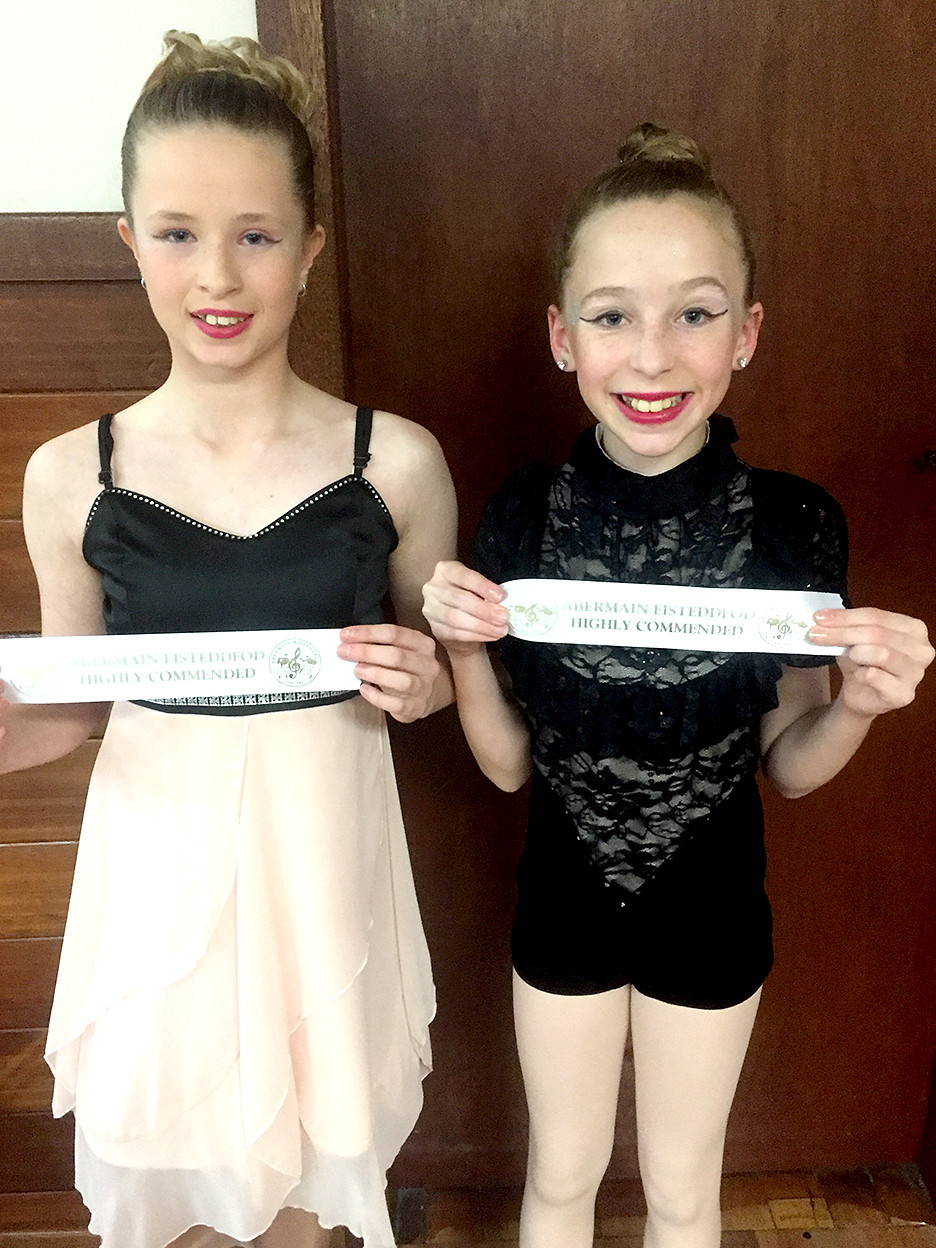 2.	Isabella McQualter and Kyara Darcy.