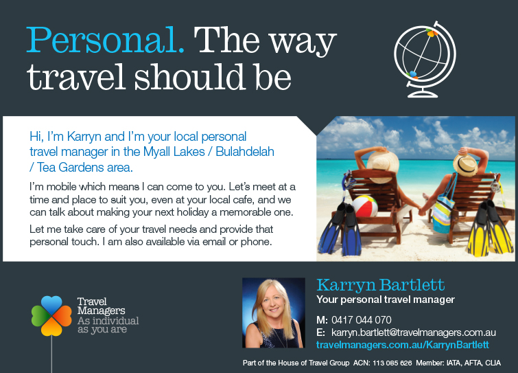 Karryn Bartlett Travel Manager