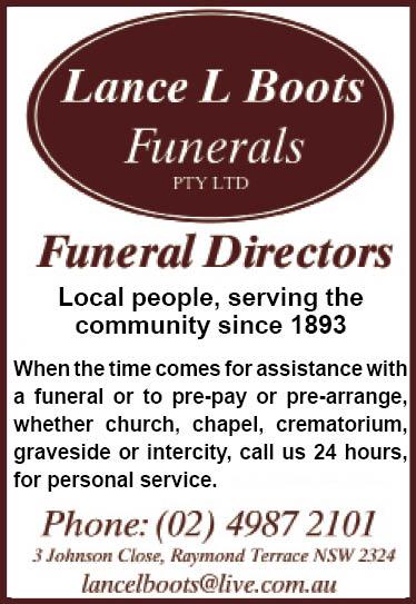 Lance Boot Funerals