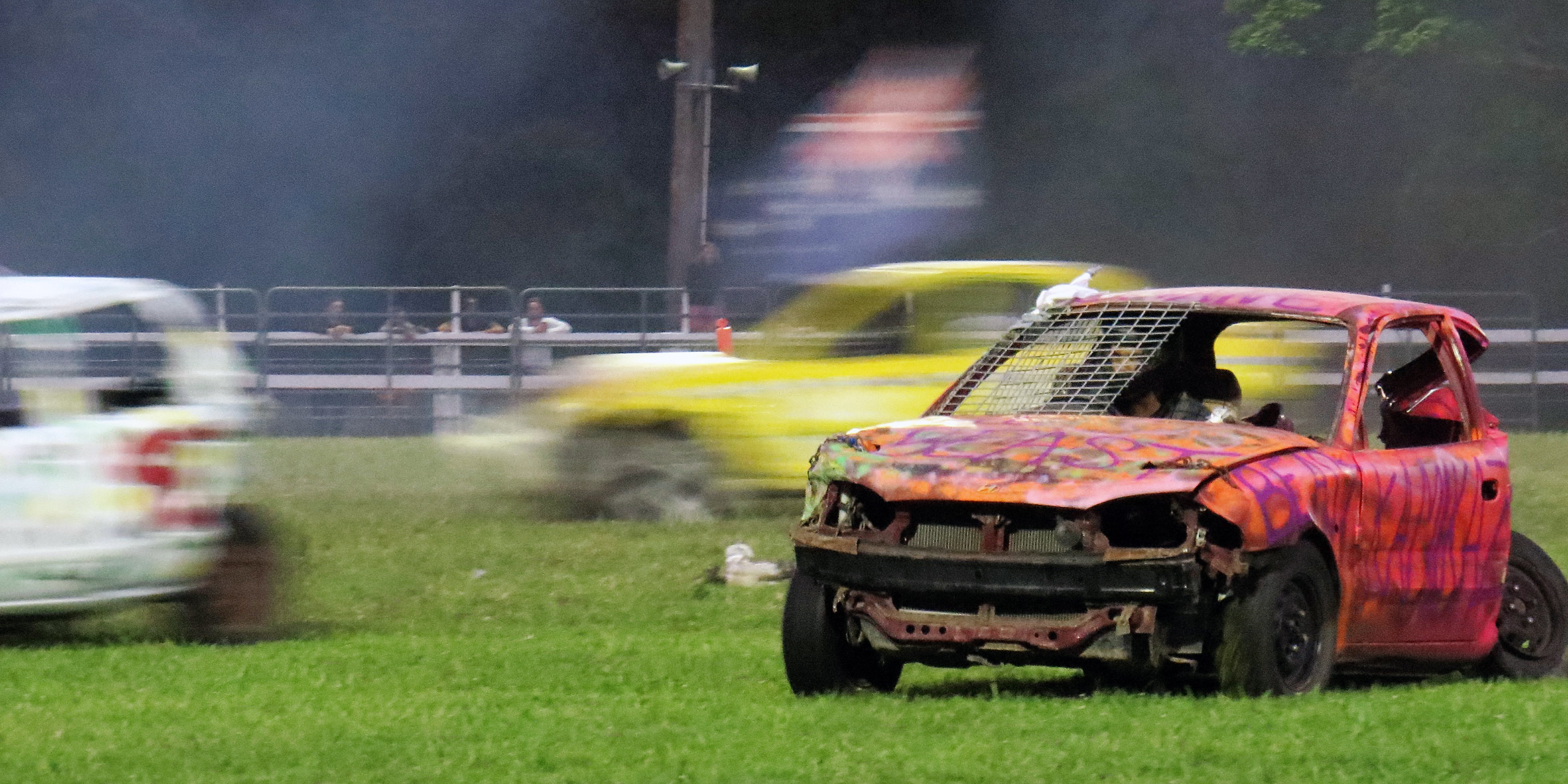 ON SHOW: The popular Demolition Derby returns to the 2016 Bulahdelah Show.