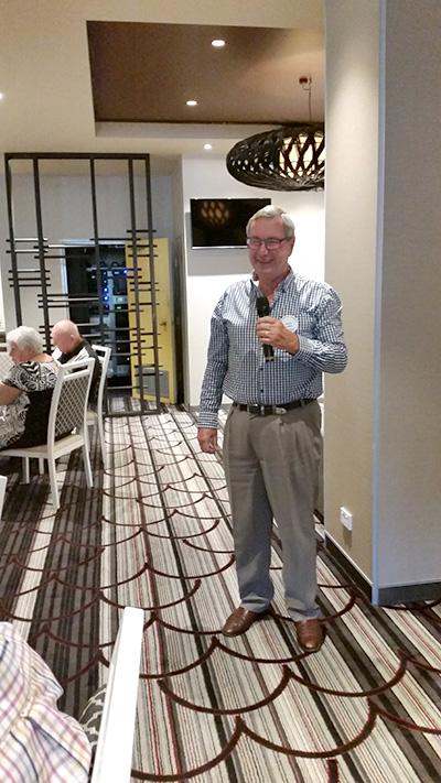 Doug Jacka, Chairman of Port Stephens Legacy Group.