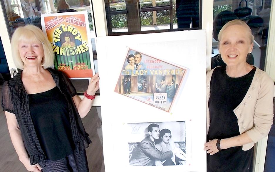 Doreen Oakshott and Sue Winter organisers of the Nostalgic movie night. Photo Jewell Drury