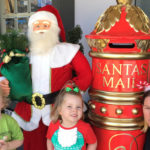 Santa visits Medowie for a special early visit