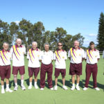 Fingal Bay Sports Club's Two Teams compete for First Place