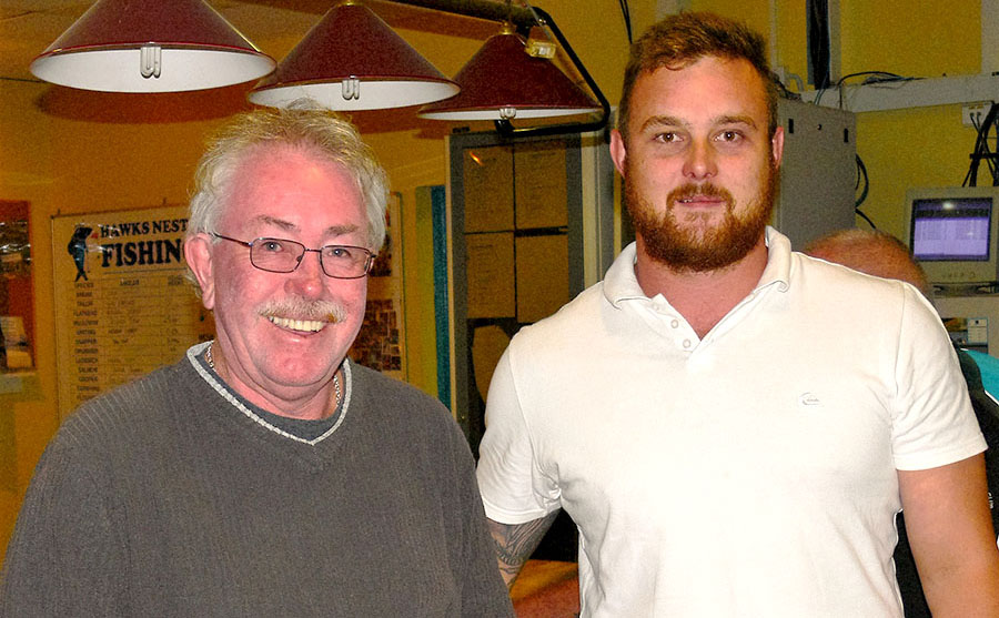 Twilight Golf runner up Richard Lee and Winner James Howell