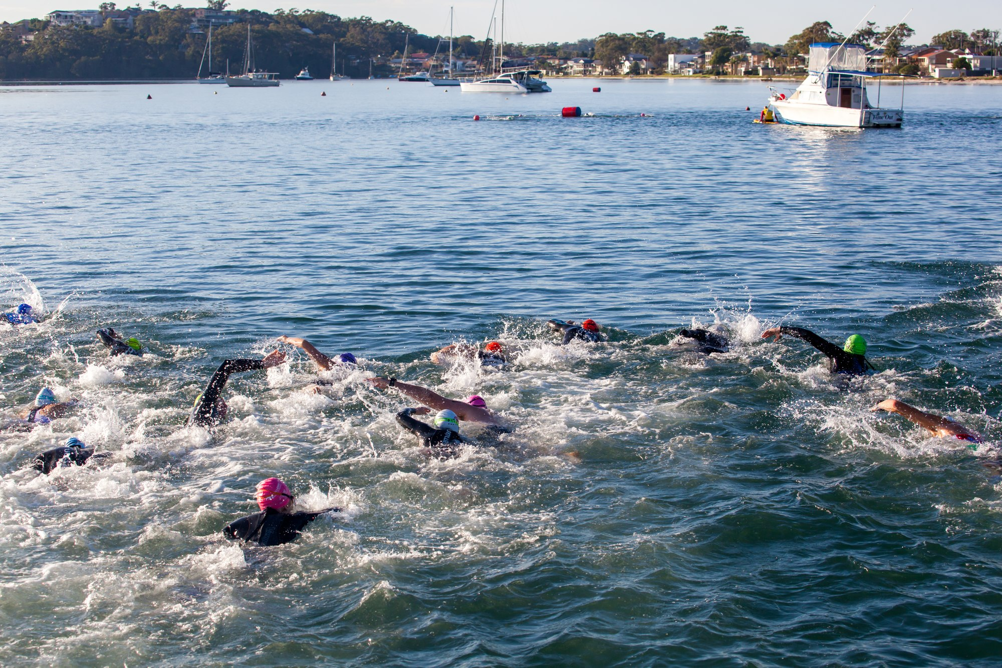 Try A Tri promises to be a great fun day. Photo by Brett Cook