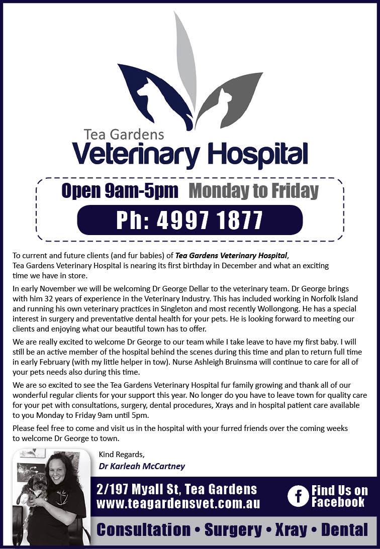 Tea Gardens Veterinary Hospital