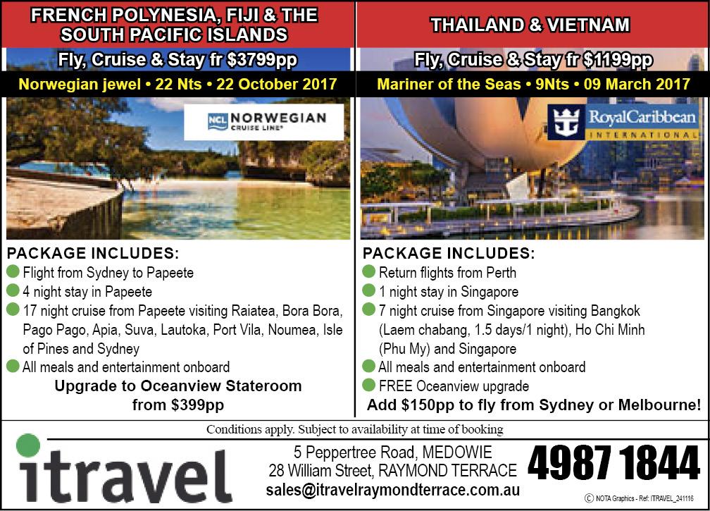 iTravel Raymond Terrace