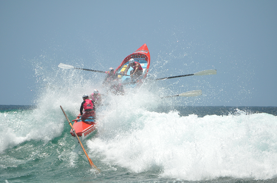 SURF ACTION: Boat Series Challenge on Bennetts Beach