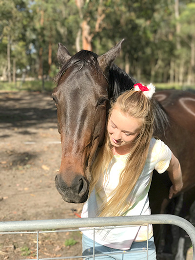 Tiana Binskin adores looking after all creatures great and small