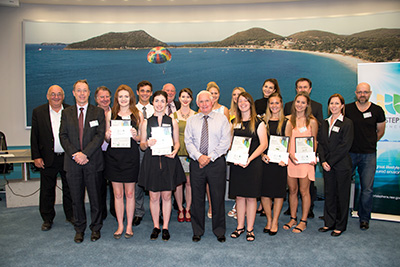 Businesses and Scholarship Recipients from the 2016 Mayoral Academic Scholarship Program