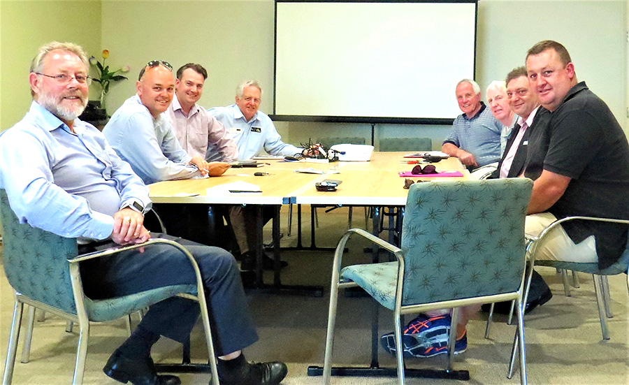 MIDCOAST CHAMBER: Representatives from business chambers in the MidCoast region meet in Tuncurry.