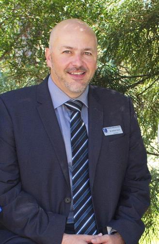 Mr Simon Herd, Principal of Medowie Christian School