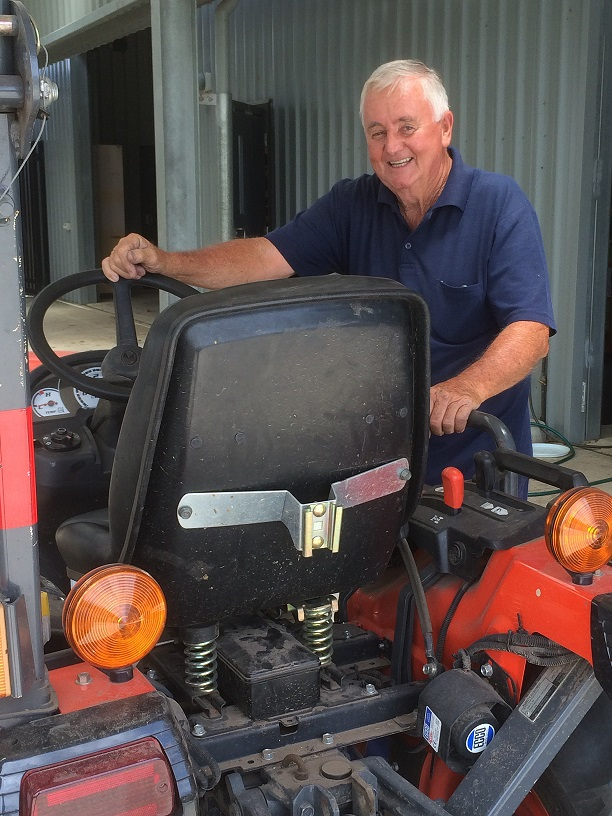 Mrs Peter Slade announced his retirement from Irrawang High's AG farm after 31 years of service.
