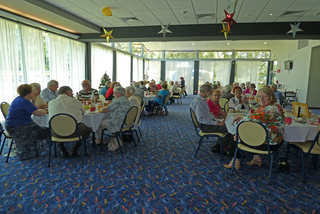 Probus Club members packed the Club for their annual Christmas gathering