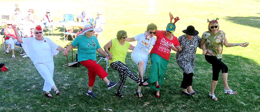 Probus girls having fun.