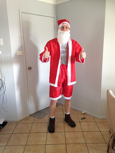 c9973b7105b5 Santa Suit On Hot Day No Barrier For Medowie s Craig Howland – News ...