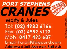 Port Stephens Cranes