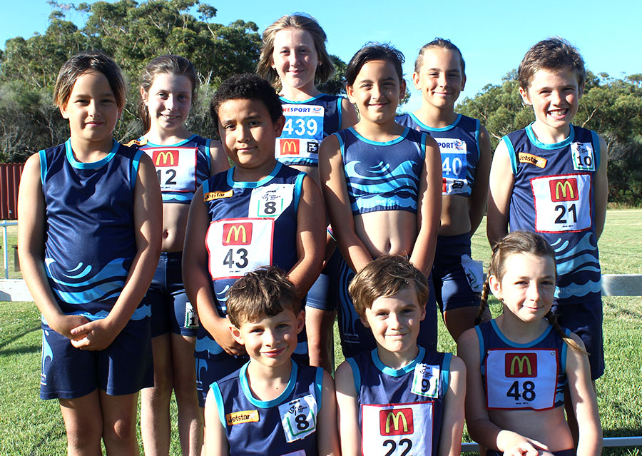 Back Row: Gemma Brown, Sophie Frazer and Lilly-Ann White. Middle Row: Logue White, Sam Alchin, Lenita White and Tyler Rodgers. Front Row: Lewis Smith, Noah Rodgers and Lara Randall. Absent: Kasey Brown, Jade Hunter, Corey Cunningham, Amber Cunningham and Aaliyah Paulson-Ruprecht.