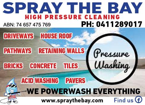Spray The Bay