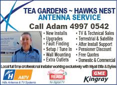 Tea Gardens Hawks Nest Antenna Services