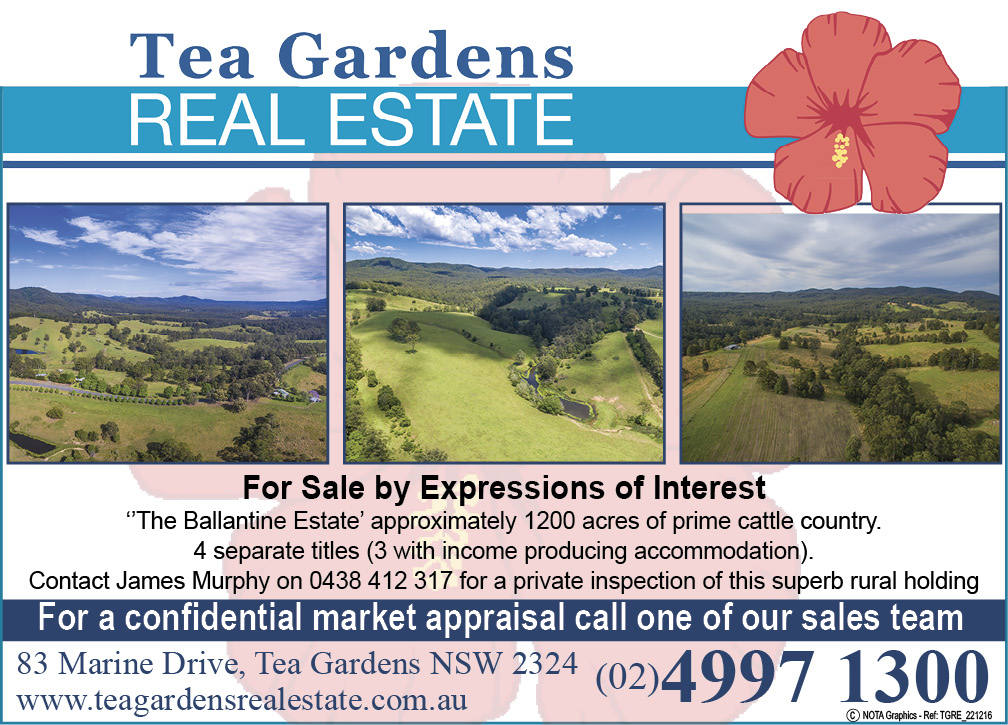 Tea Gardens Real Estate