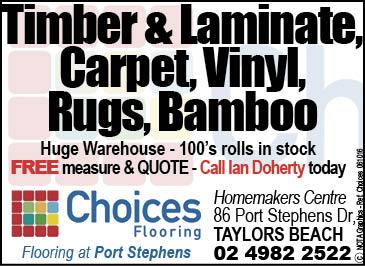 Choices Flooring Port Stephens