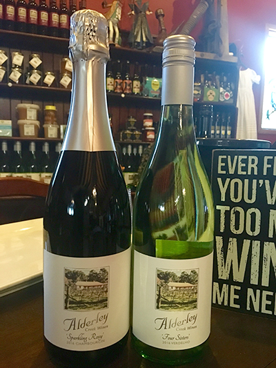 Alderley Creek offers wine tasting from their boutique range.