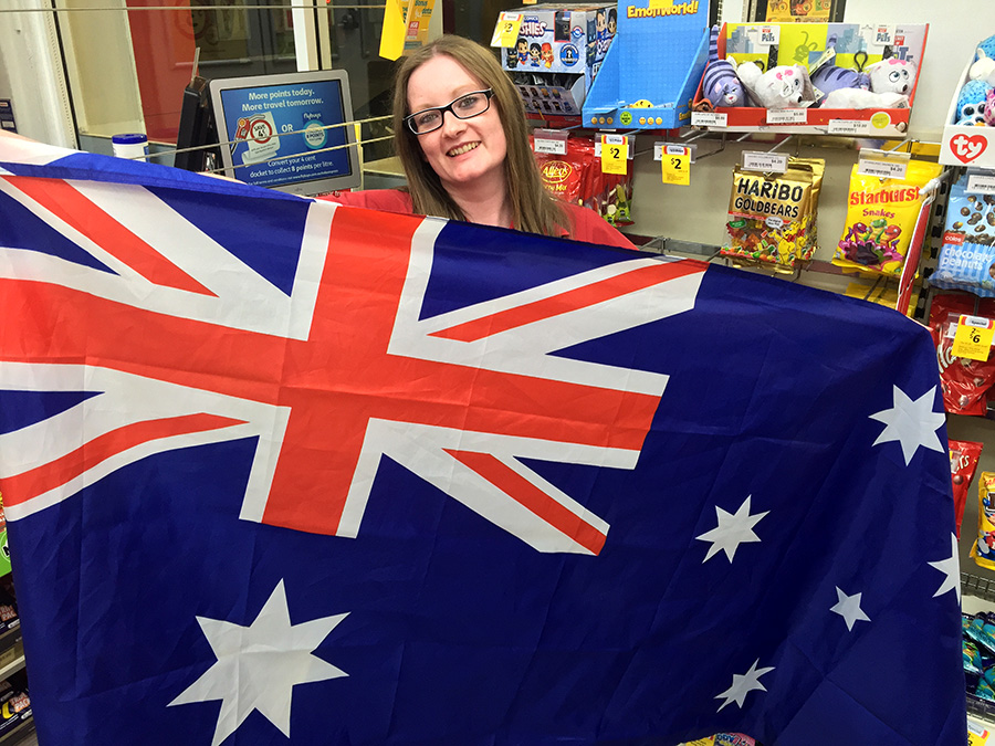Gemma Reid thinks that the people of the UK can learn a thing or two from us Aussies and how we celebrate Australia Day.  Photos by Jewell Drury