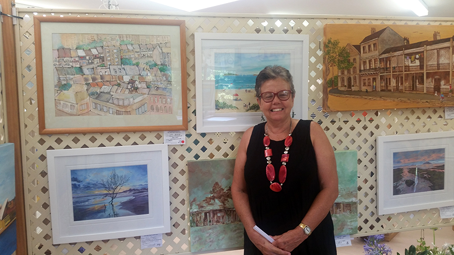 ART ENTHUSIAST: Lynette Thorn.
