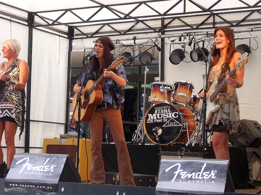 Headlining acts like The McClymonts have been a part of the Bluewater Country Music Festivals in previous years. Photo by Mark Edson