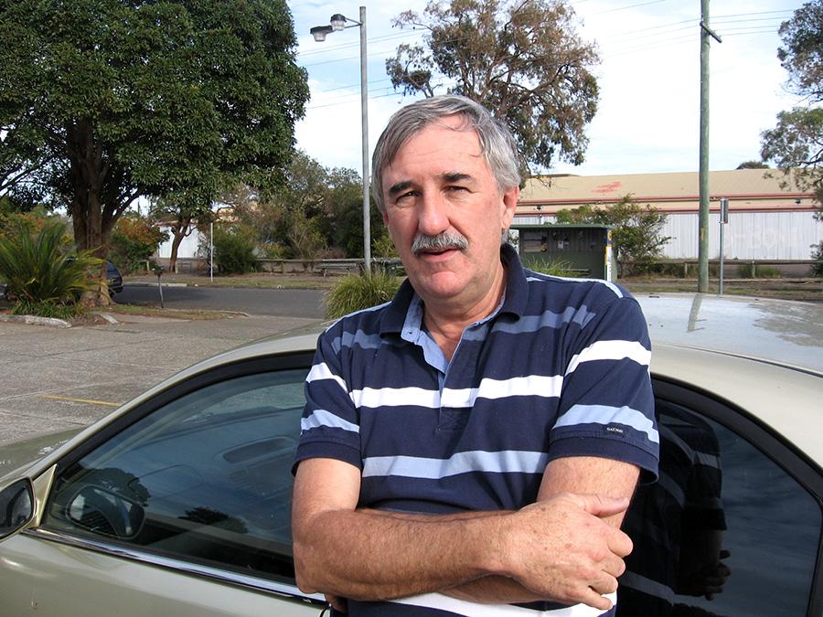 Steve Tucker recently fell victim to heatstroke.