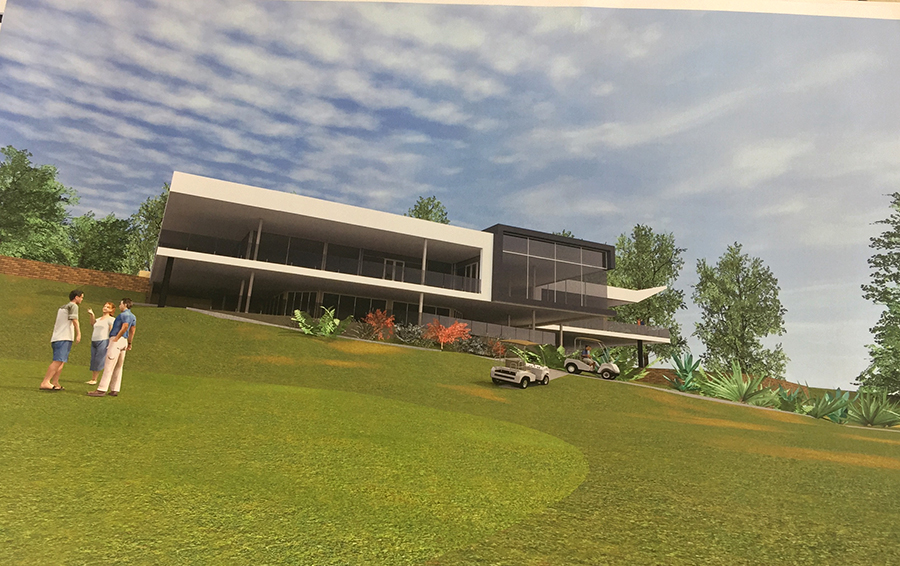 """Nelson Bay  Golf Club will be """"State of The Art""""."""