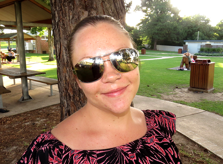 Janna Anderson: Bulahdelah - I want to earn more money, lose some Christmas weight and be happy.