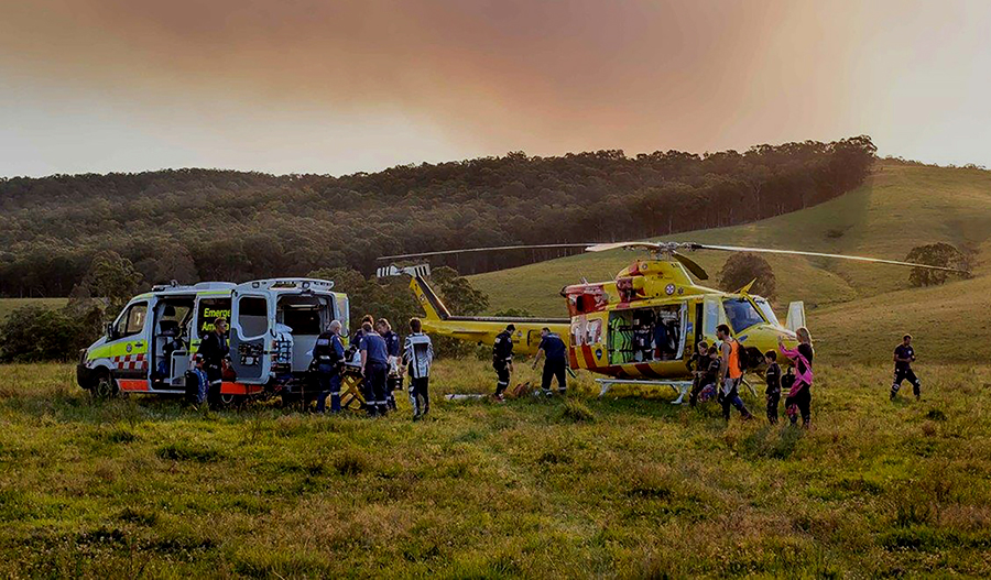 Working in collaboration with NSW Ambulance Service.