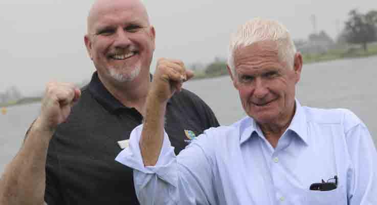 Port Stephens Council Deputy Mayor Chris Doohan & Mayor  Bruce MacKenzie are proud of the successful Australia Day celebrations and Awards