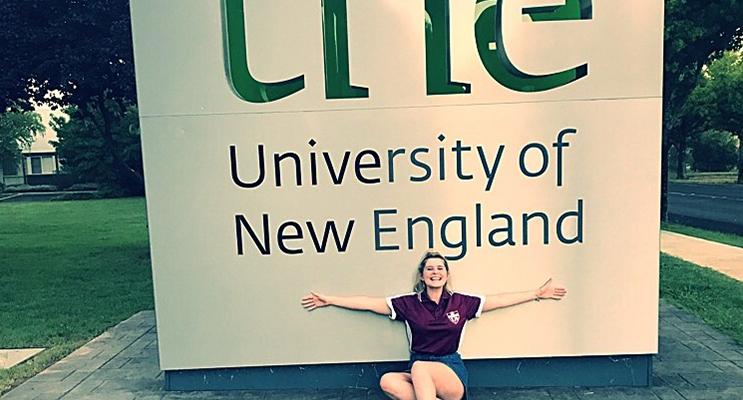Chloe Shultz is looking forward to university life.