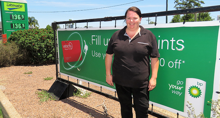 BP Manager Kylie Watling is unsure if petrol prices will fall.