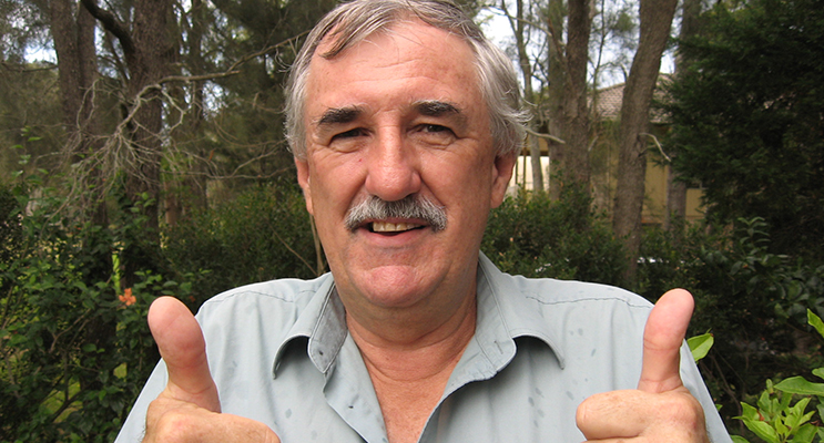 'Thumbs up' from Steve Tucker. Happy after amalgamation rejected.
