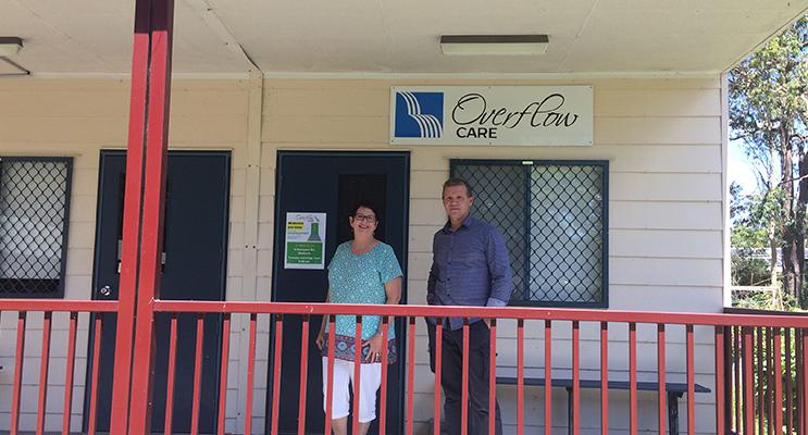 Christina Jones and Brad Fewster from Overflow Job Club.