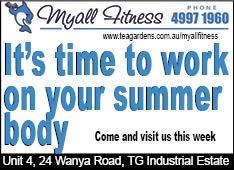 Myall Fitness Tea Gardens