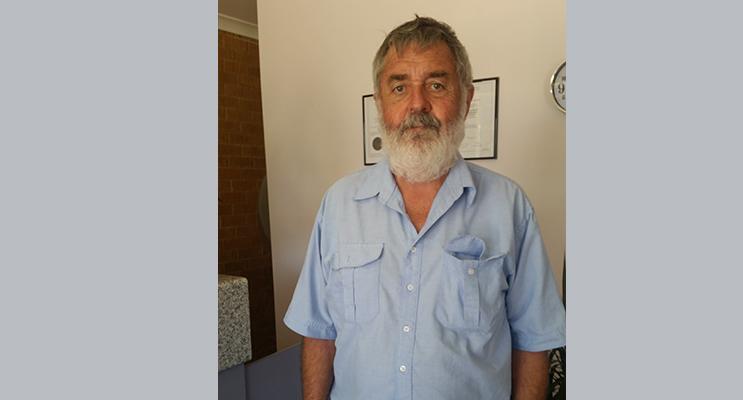 VACCINATION URGED: Veterinarian Dr George Dellar.