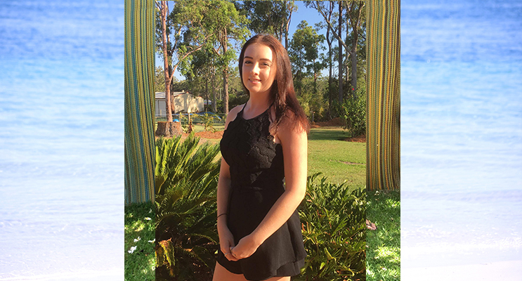 Young Citizen of the Year award recipient, Carissa Maher, is looking forward to tertiary studies.