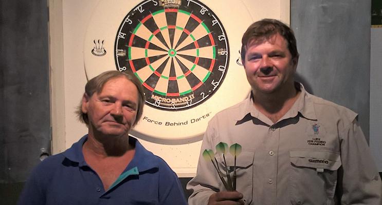 Luke Boyd and Darren White, Darts Winners.