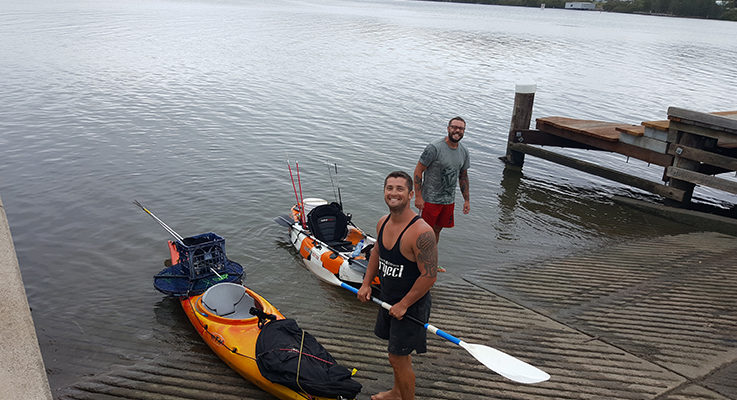 Medowie Dads conquer River Trip living off the land